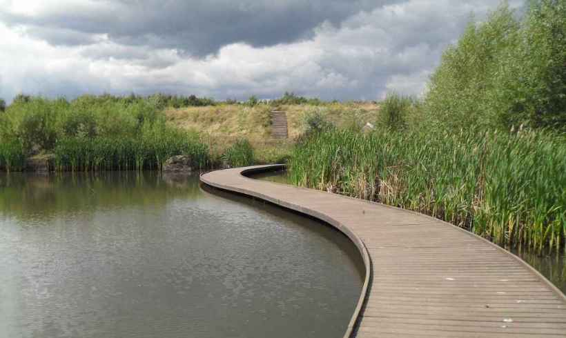 Centenary Riverside park – Rotherham, UK