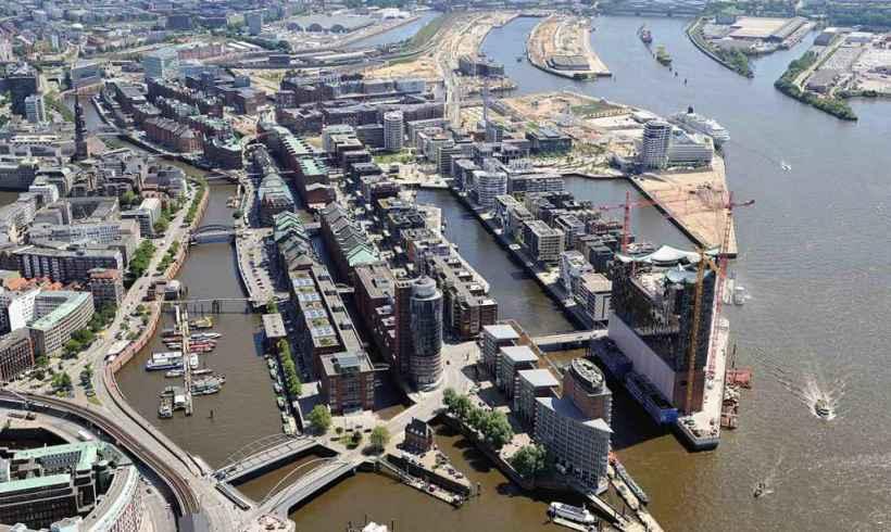 Štvrť  HafenCity – Hamburg, Nemocko