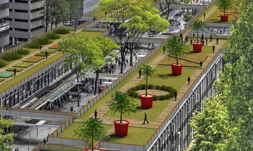 Zelené strechy – Rotterdam, NL
