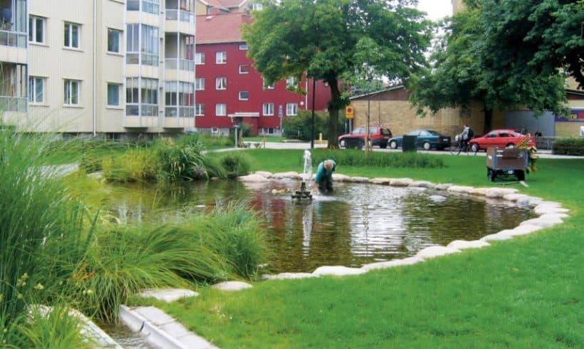 Odpadové vody pre tlmenie a čistenie extrémne znečistenej vody