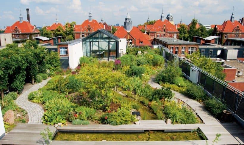 Záhradná strecha