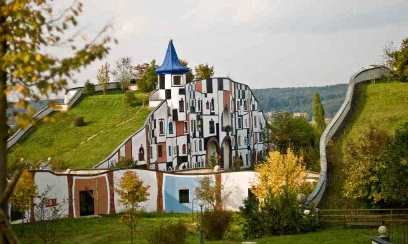 Kúpele v harmónii s prírodou – Bad Blumau, Rakúsko