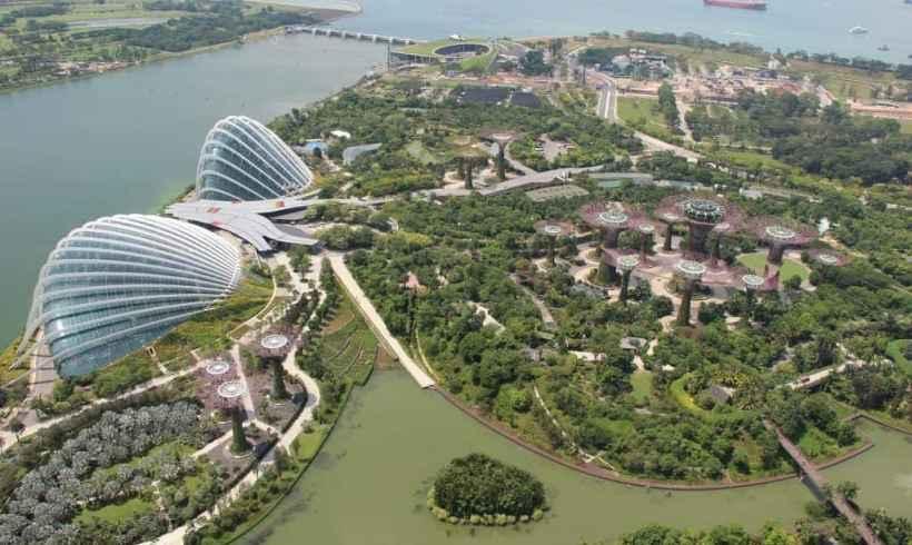 Mesto v záhrade – Singapur, SG