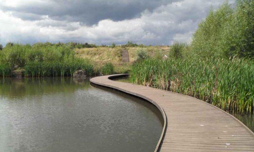 Centenary Riverside park – Rotherham, UK