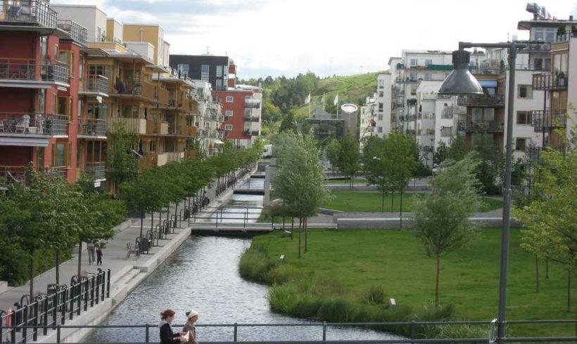 Zóna Hammarby Sjöstad – Štokholm, Švédsko