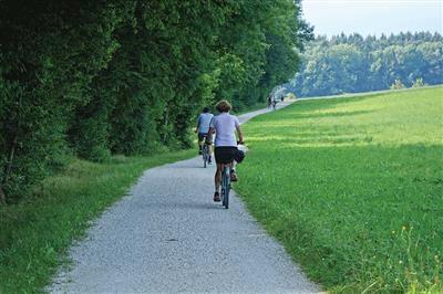 Zelené chodníky pre cyklistov